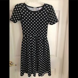 LulaRoe Polka dot Dress